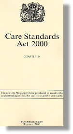 Care Standards Act 2000